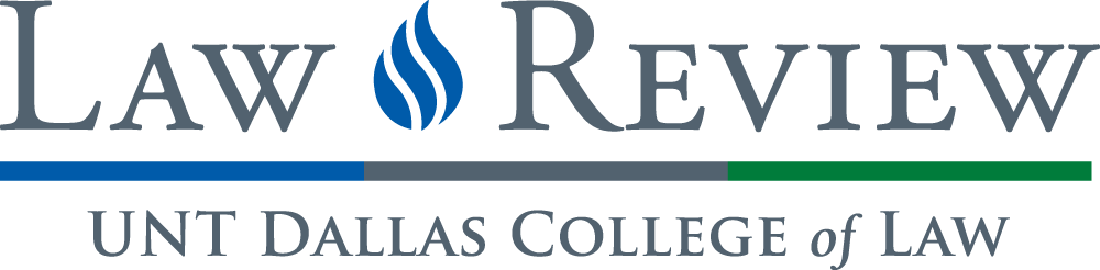 UNT Dallas Law Review logo